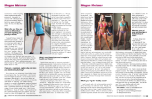 Megan Meisner Fitness Published Work